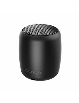 Dodocool Mini Wireless Speakers, Small Portable Speaker Built In Mic Selfie Remote Control, Low Harmonic Distortion I Phone I Pad Android Smartphone More (Black) by Dodocool