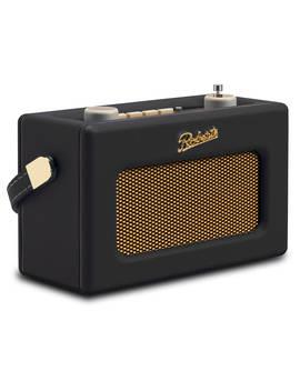 Roberts Revival Uno Dab/Dab+/Fm Digital Radio With Alarm, Black by Roberts
