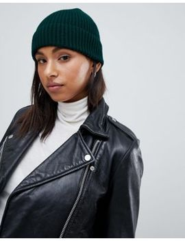 New Look Green Beanie Hat by New Look