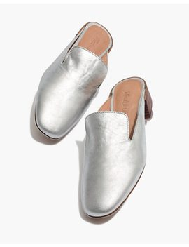 The Willa Loafer Mule In Metallic by Madewell