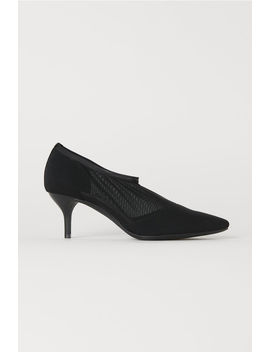 Mesh Sock Style Court Shoes by H&M