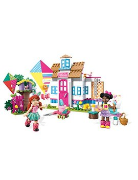 Mega Construx Welliewishers Playful Playhouse Buildable Playset by Mega Bloks