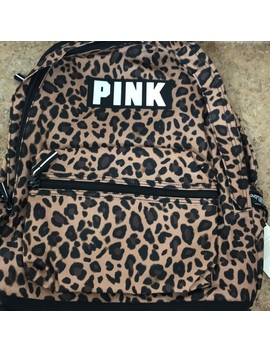 Vs Pink Leopard Backpack   Nwt by Pink Victoria's Secret