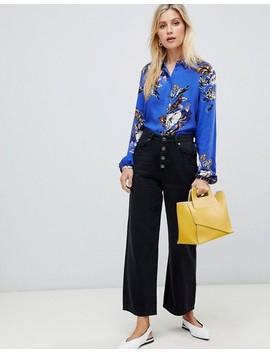 Vila Floral Long Sleeve Shirt by Vila
