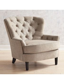 Oatmeal Armchair by Eliza Collection