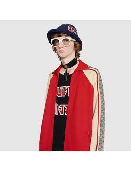 Oversize Technical Jersey Jacket by Gucci