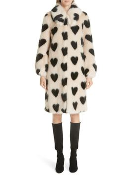 Lorca Faux Fur Coat by Shrimps