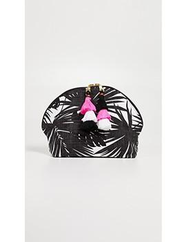 Aloha Tassel Cosmetic Pouch by Jad Etribe