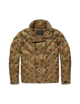 Star Quilted Crop Jacket by Scotch & Soda