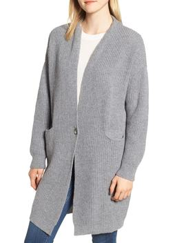 Audrey Longline Wool Cardigan by Barbour