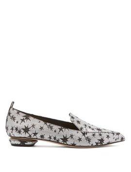 Beya Star Jacquard Loafers by Nicholas Kirkwood