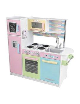 Kid Kraft 53257 Uptown Pastel Kitchen Playset by Kid Kraft