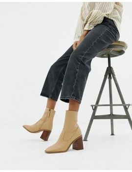 Asos Design   Evaline   Bottines En Cuir by Asos Design