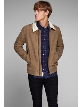 Leren Jas by Jack & Jones Premium