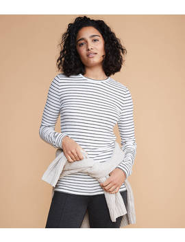 Lou &Amp; Grey Brushstripe Top by Loft