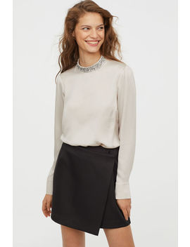Bluse Mit Applikation by H&M