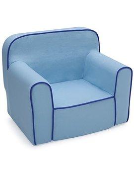 Delta Children Foam Snuggle Chair, Blue by Delta Children