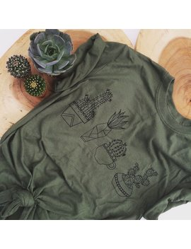Cactus Shirt by Etsy