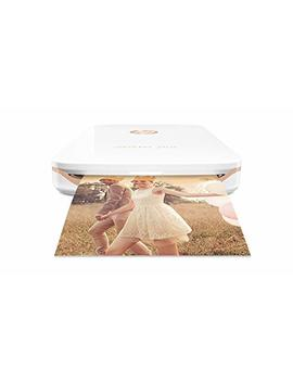Hp Sprocket Plus Instant Photo Printer, Print 30 Percents Larger Photos On 2.3x3.4 Sticky Backed Paper – White (2 Fr85 A) by Hp