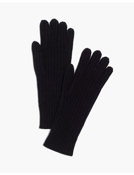 Ribbed Texting Gloves by Madewell