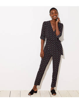 Petite Bejeweled Jumpsuit by Loft
