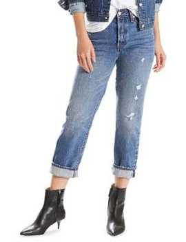 Wedgie High Rise Straight Jeans Before Dawn by Levi's