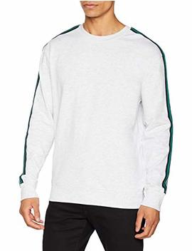 New Look Herren Pullover Nerd Tape by Amazon