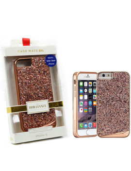 Case Mate Brilliance Case For Apple I Phone 6 6s Rose Gold Protective Cover by Case Mate