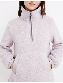 Polartec® Fleece Popover Jacket by Madewell