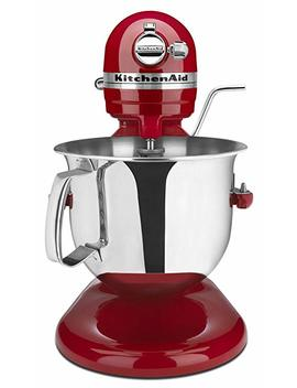 Kitchen Aid Certified Refurbished Rksm6573 Er 6 Qt. Professional Bowl Lift Stand Mixer   Empire Red by Kitchen Aid