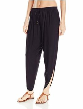 Laundry By Shelli Segal Women's Solid Draped Cover Up Pant by Laundry+By+Shelli+Segal
