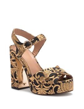 Loretta Platform Sandal by Tory Burch