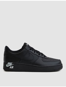 Air Force 1 '07 Lthr Sneaker In Black by Nike