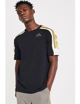 Kappa Banda Arset Black And Gold T Shirt by Kappa