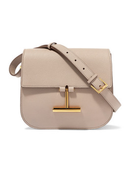 Tara Mini Textured Leather Shoulder Bag by Tom Ford