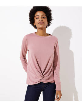 Twist Sweatshirt by Loft