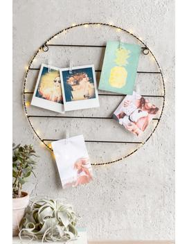 Light Up Round Photo Clip Grid by Francesca's