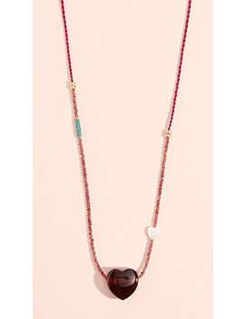 Gemini Necklace by Lizzie Fortunato