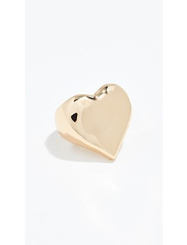 Heart Of Gold Ring by Reliquia