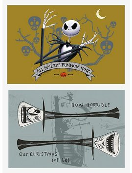 The Nightmare Before Christmas Blind Box Mystery Poster by Hot Topic