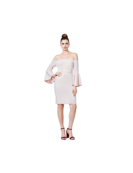 off-the-charts-bell-sleeve-dress by betsey-johnson