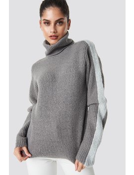 Panel Knitted Sweater by Na Kd