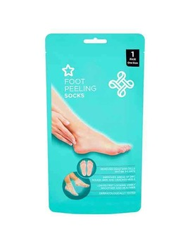 superdrug-foot-peeling-socks-1-pair by superdrug