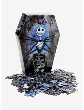 The Nightmare Before Christmas 25 Years Jack Skellington Puzzle by Hot Topic