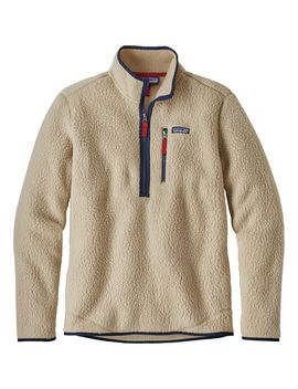 Retro Pile Pullover Jacket   Men's by Patagonia