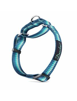 Dazzber Unique Geometric Pattern Martingale Dog Collar, Soft & Silky Safety Training Collars Small To Large Dogs by Dazzber