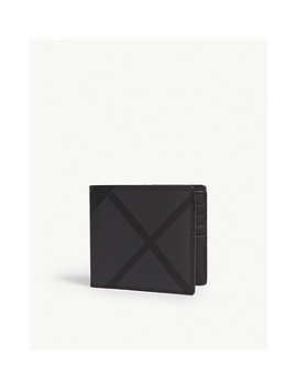 Leather Bi Fold Wallet by Burberry