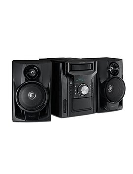 Sharp Cd Bh950 Sharp 240 W 5 Disc Mini Shelf Speaker System With Cassette And Bluetooth by Sharp