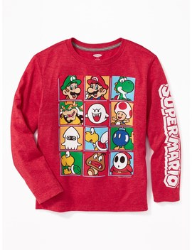 Nintendo™ Super Mario Character Graphic Tee For Boys by Old Navy