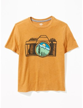 Graphic Soft Washed Tee For Boys by Old Navy